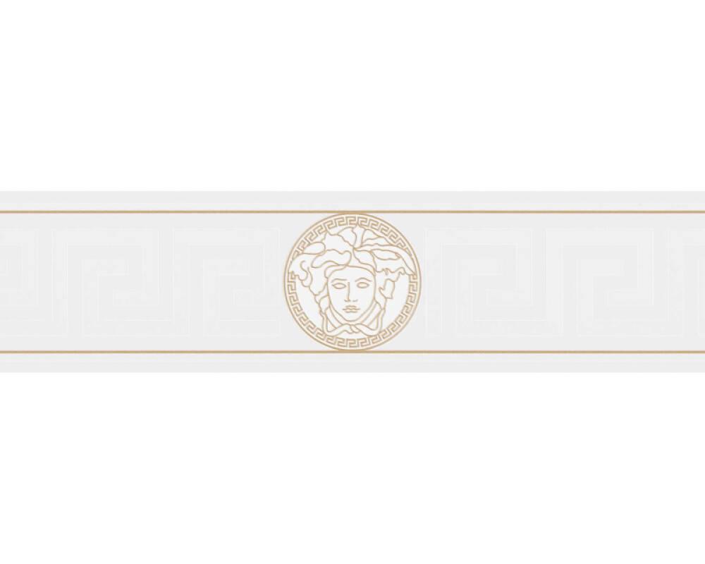 Versace Home frise Baroque, blanc, métallique, or 935223