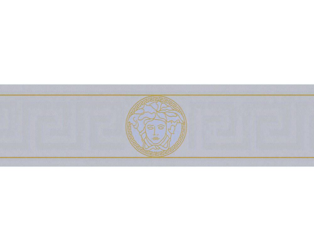 Versace Home Bordüre Barock, Gold, Metallics, Silber 935225