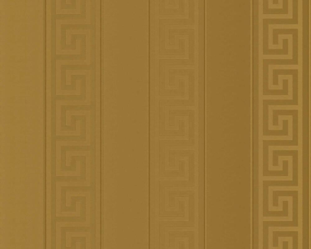 Versace Home Tapete Streifen, Gold, Metallics 935242