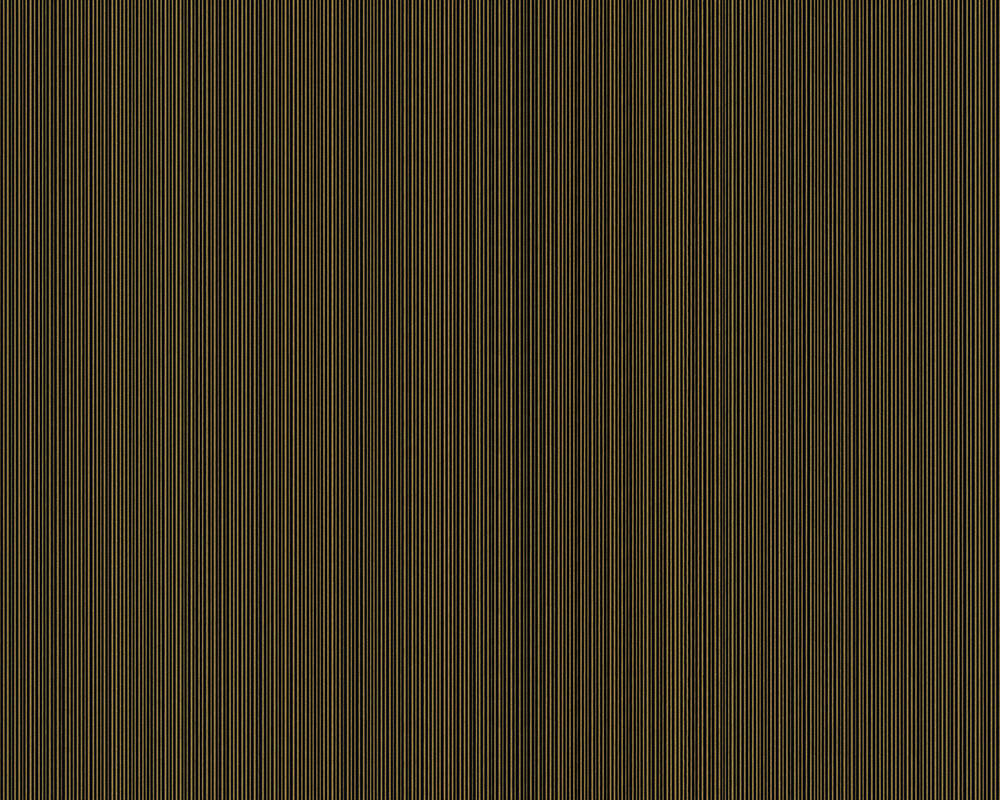 Versace Home papier peint Uni, métallique, noir, or 935254