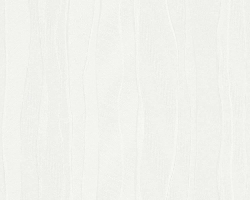 A.S. Création Wallpaper Stripes, White 935291