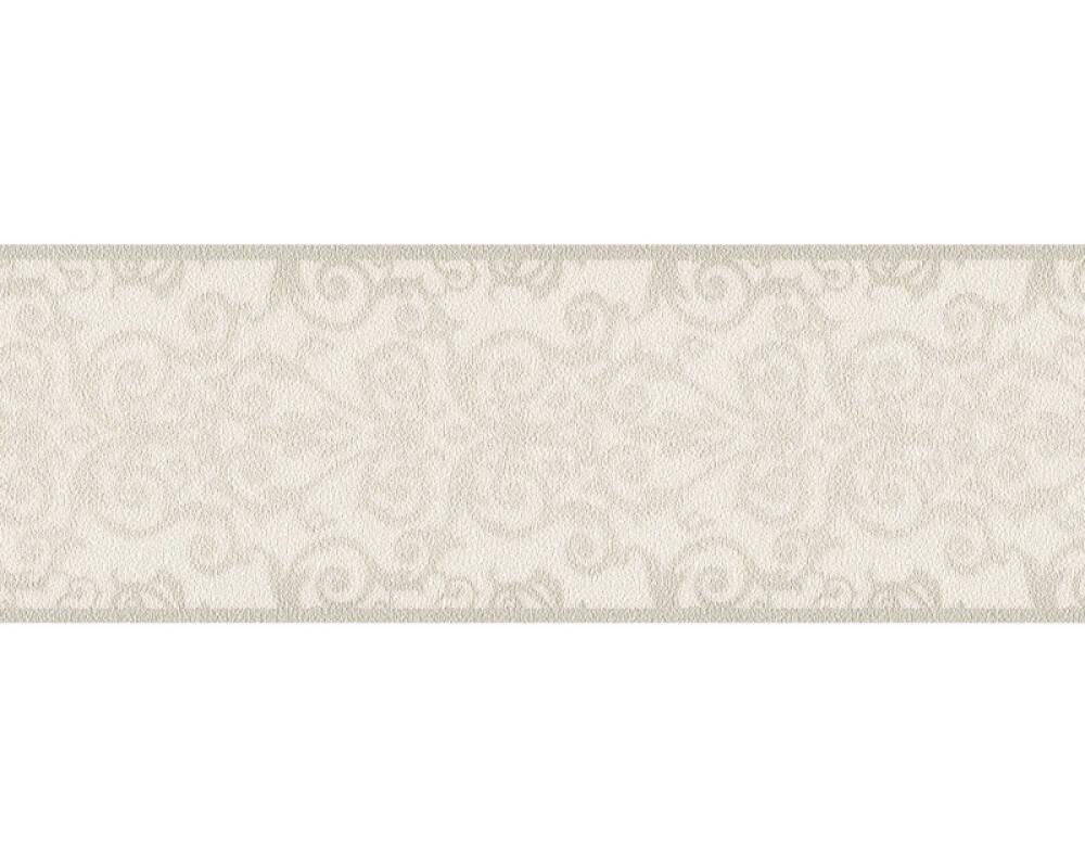 Versace Home Бордюр Барокко, Белые, Металлик, Серыe 935471