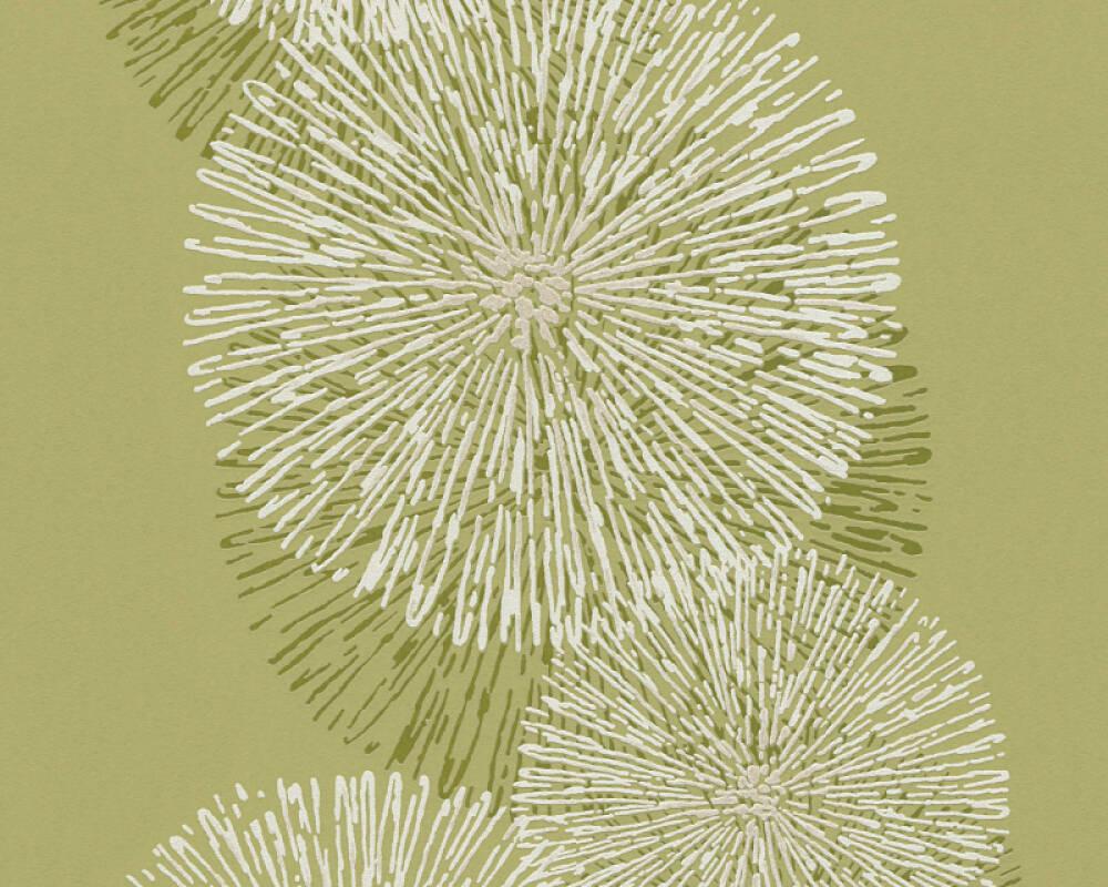 tapete wohnzimmer grün:Schöner Wohnen Tapete 943594: Tapete, Grün, Weiß, Natur, Grafik