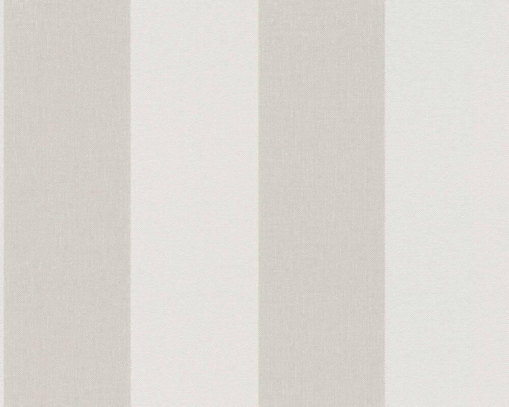 Livingwalls Tapete Streifen, Beige, Braun, Creme 948342