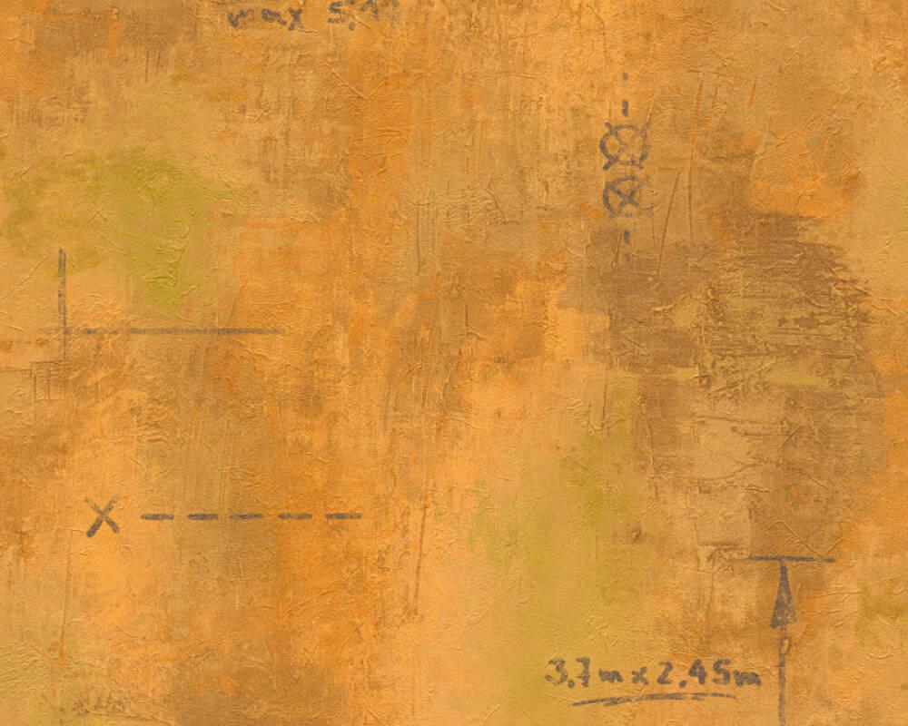 Kinderzimmer Tapete As Creation : Cr?ation Tapete 953904: Tapete, Orange, Modern, Strukturen