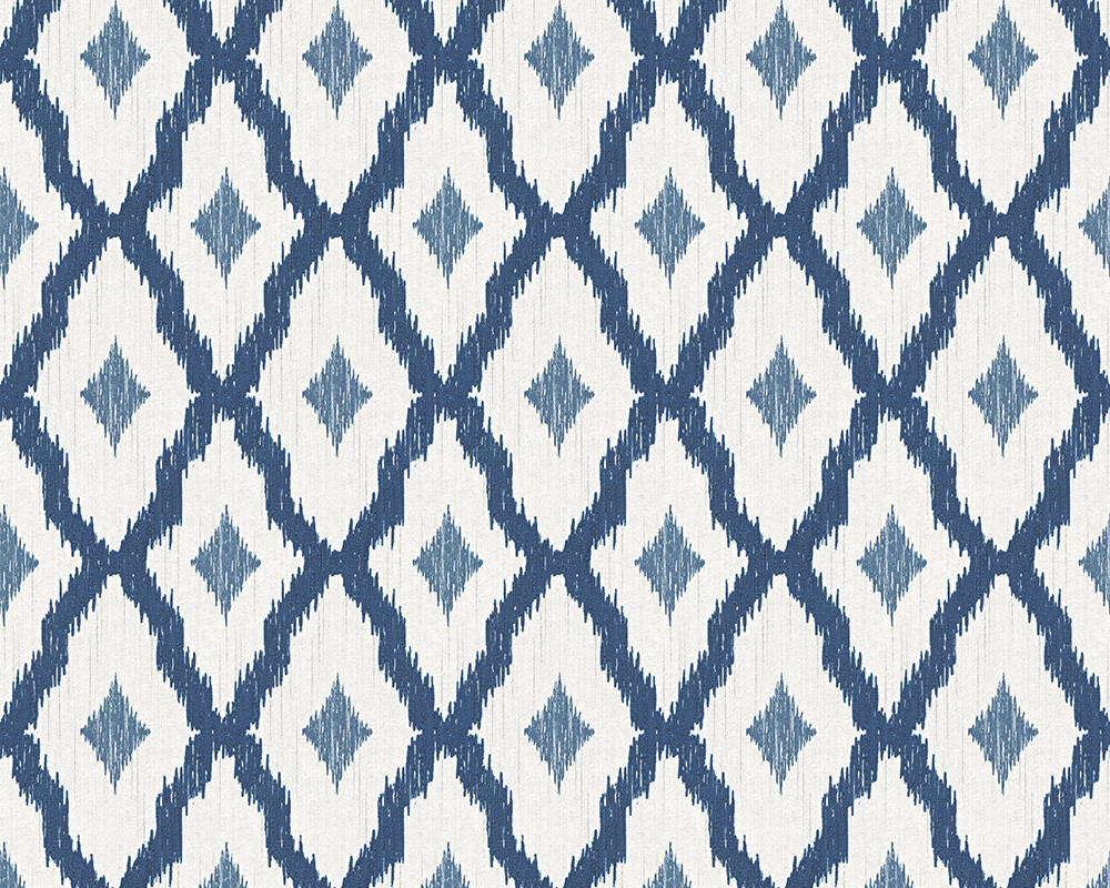 Architects Paper Wallpaper Blue, White 961974