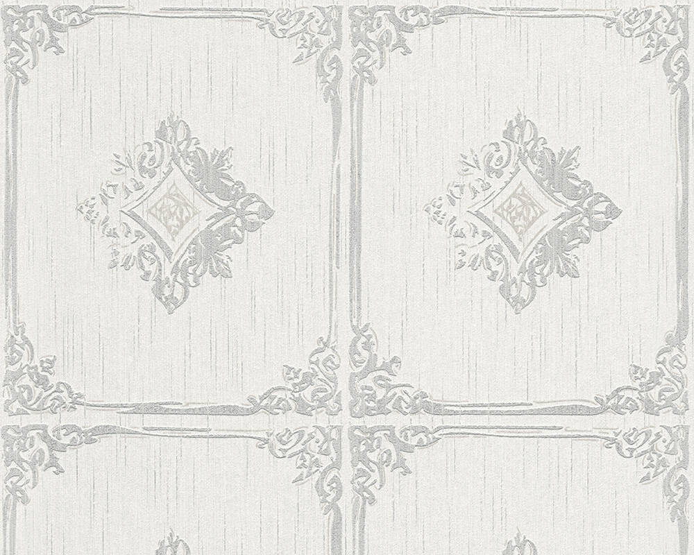 Architects Paper Wallpaper Grey, White 961991