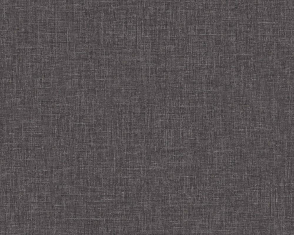 Versace Home Tapete Uni, Grau, Metallics, Schwarz 962336