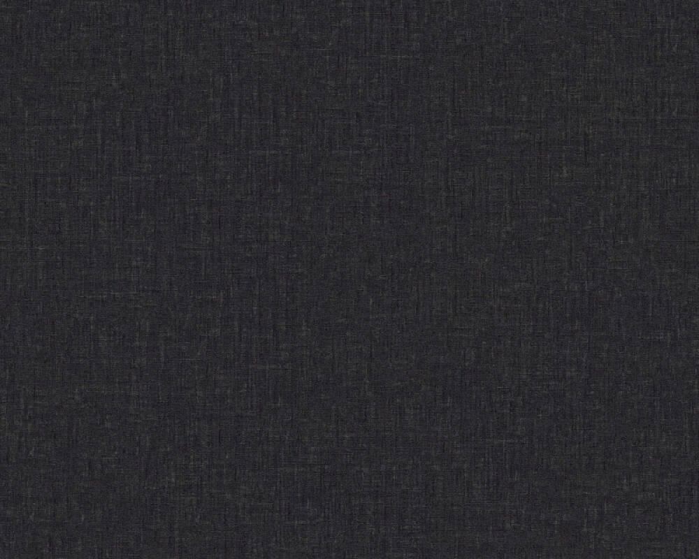 Versace Home Tapete Uni, Schwarz 962339
