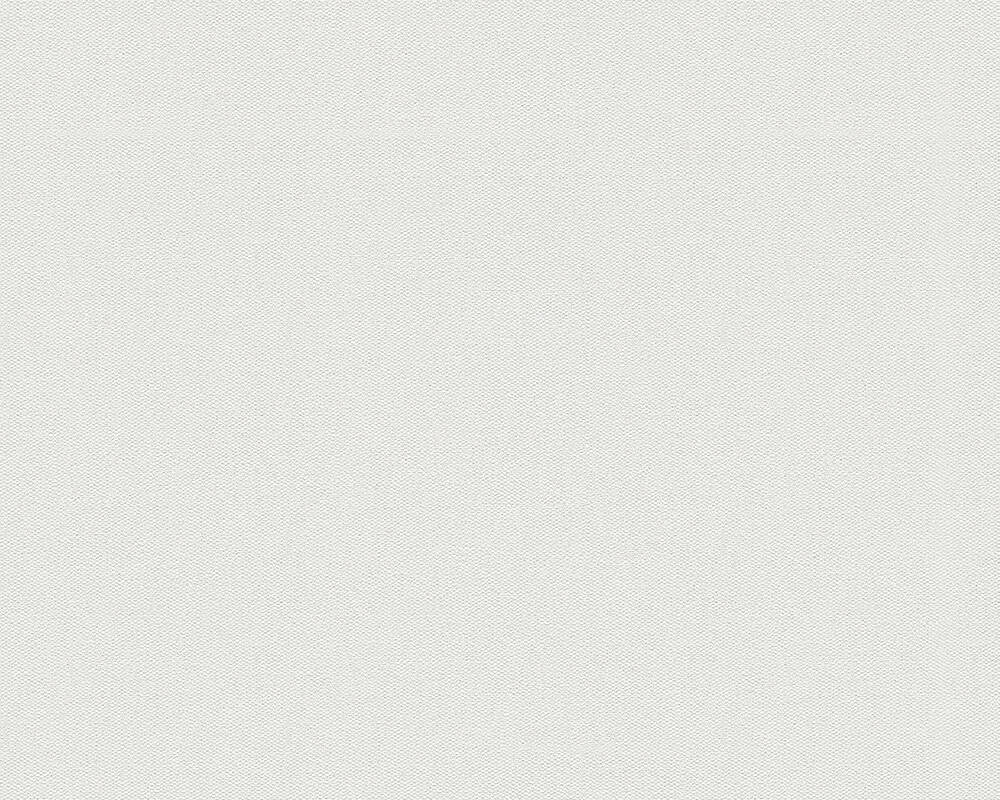 Livingwalls Wallpaper Uni, Metallic, White P468820025