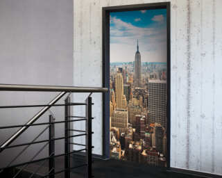 Door mural «Manhattan» 020020