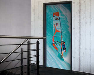 Door mural «Surfer» 020026