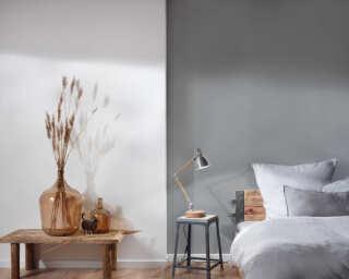 Livingwalls Wallpaper «Uni, Grey» 293022