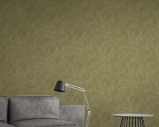 A.S. Création Wallpaper «Floral, Green» 372194