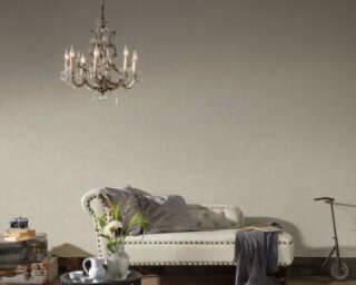 A.S. Création Wallpaper «Uni, Beige, Grey, Taupe» 372281