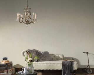Livingwalls Wallpaper «Uni, Cream» 372406