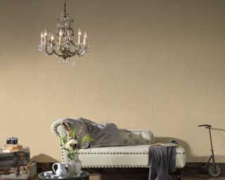 Livingwalls papier peint «Uni, beige» 372413