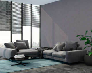 Livingwalls papier peint «Uni, gris» 374184