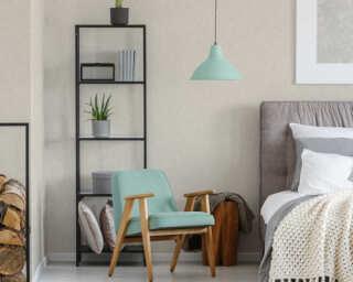 Private Walls papier peint «Uni, beige, crème» 375352