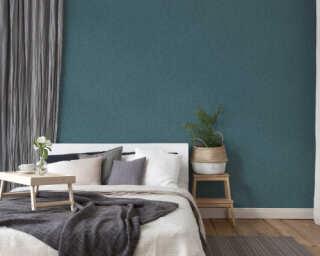 Private Walls Wallpaper «Uni, Blue» 375363