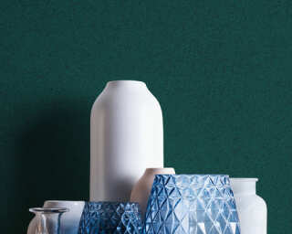 A.S. Création papier peint «Uni, vert» 375555