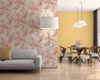 A.S. Création Vliestapete «Floral, Gelb, Violett, Weiß» 378161