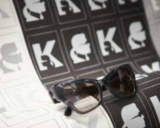 Karl Lagerfeld Wallpaper «Graphics, Black, Metallic» 378423
