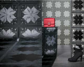 Karl Lagerfeld Wallpaper «Baroque, Black» 378453