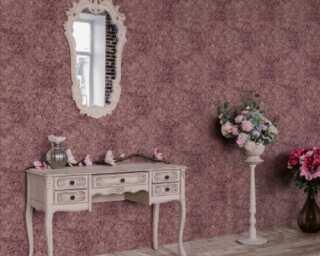 Livingwalls Tapete «Barock, Rosa, Rot, Violett» 380932