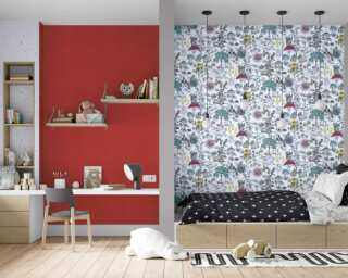 Livingwalls non-woven wallpaper «Black, Coloured, White» 381201