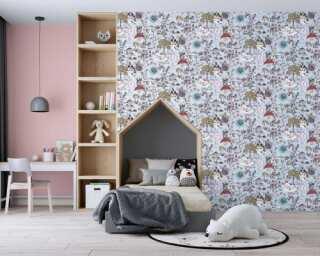Livingwalls non-woven wallpaper «Black, Coloured, Grey» 381202