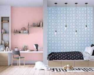 Livingwalls non-woven wallpaper «Grey, White, Yellow» 381311