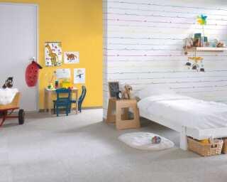 Livingwalls non-woven wallpaper «Blue, Green, White» 381401