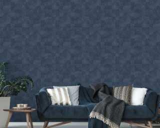 Livingwalls Vliestapete «Fliesen, Blau» 382005
