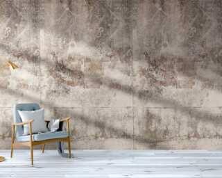 Livingwalls Vliestapete «Beton, Beige, Creme» 383391