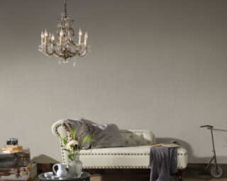 A.S. Création Wallpaper «Uni, Beige, Grey, Taupe» 808820