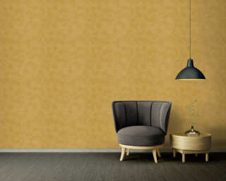 Versace Home Обои «Уни, Желтыe, Металлик» 935913