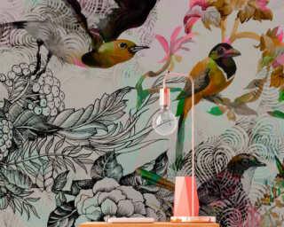 Photo wallpaper «funky birds 1» DD110176