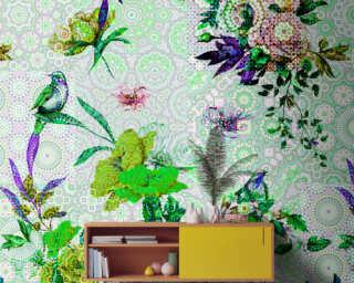 Photo wallpaper «mosaic garden1» DD110191