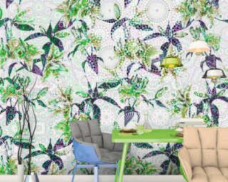 Photo wallpaper «mosaic lilies3» DD110221