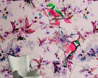 Photo wallpaper «songbirds 1» DD110226