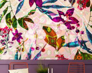 Photo wallpaper «mosaicBlossom2» DD110241