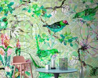 Photo wallpaper «mosaic birds 1» DD110246