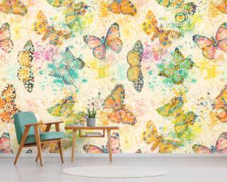 Photo wallpaper «mosaicButterf1» DD110261