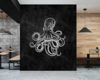 Photo wallpaper «blackboard 4» DD110321