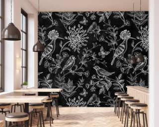 Photo wallpaper «blackboard 9» DD110346