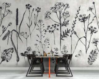 Photo wallpaper «sketchpad 1» DD110351
