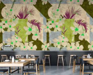 Photo wallpaper «vintage bloom1» DD114102