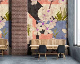 Photo wallpaper «vintage bloom2» DD114107