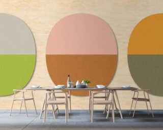 Photo wallpaper «split ovals 1» DD114552